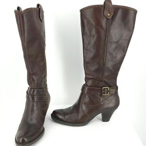 BORN HAND CRAFTED LEATHER BOOTS SIZE 8